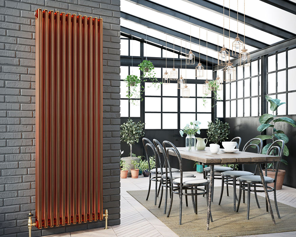 Kitchen radiators - the top trends for 3 are revealed by DQ Heating
